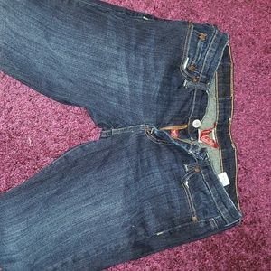 Lucky brand s29 jean darkwash straight cut